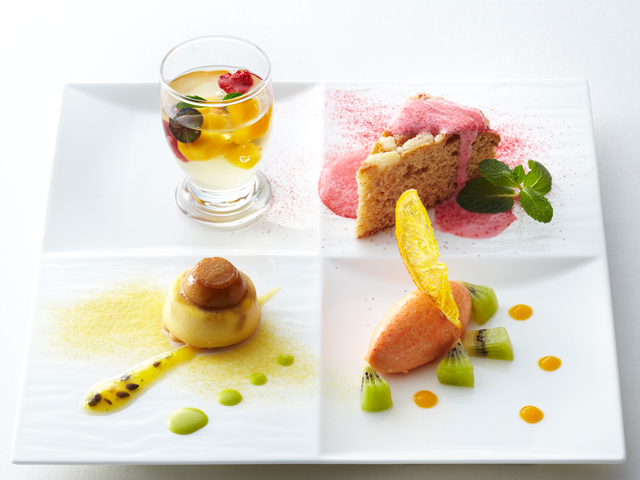 大阪駅周辺5ホテル共同ランチ企画 「夏の味めぐり」デザート
